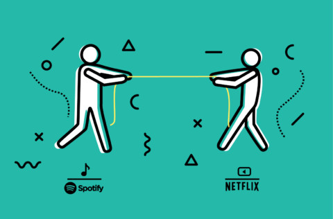 The Experience Battle: NETFLIX vs. SPOTIFY